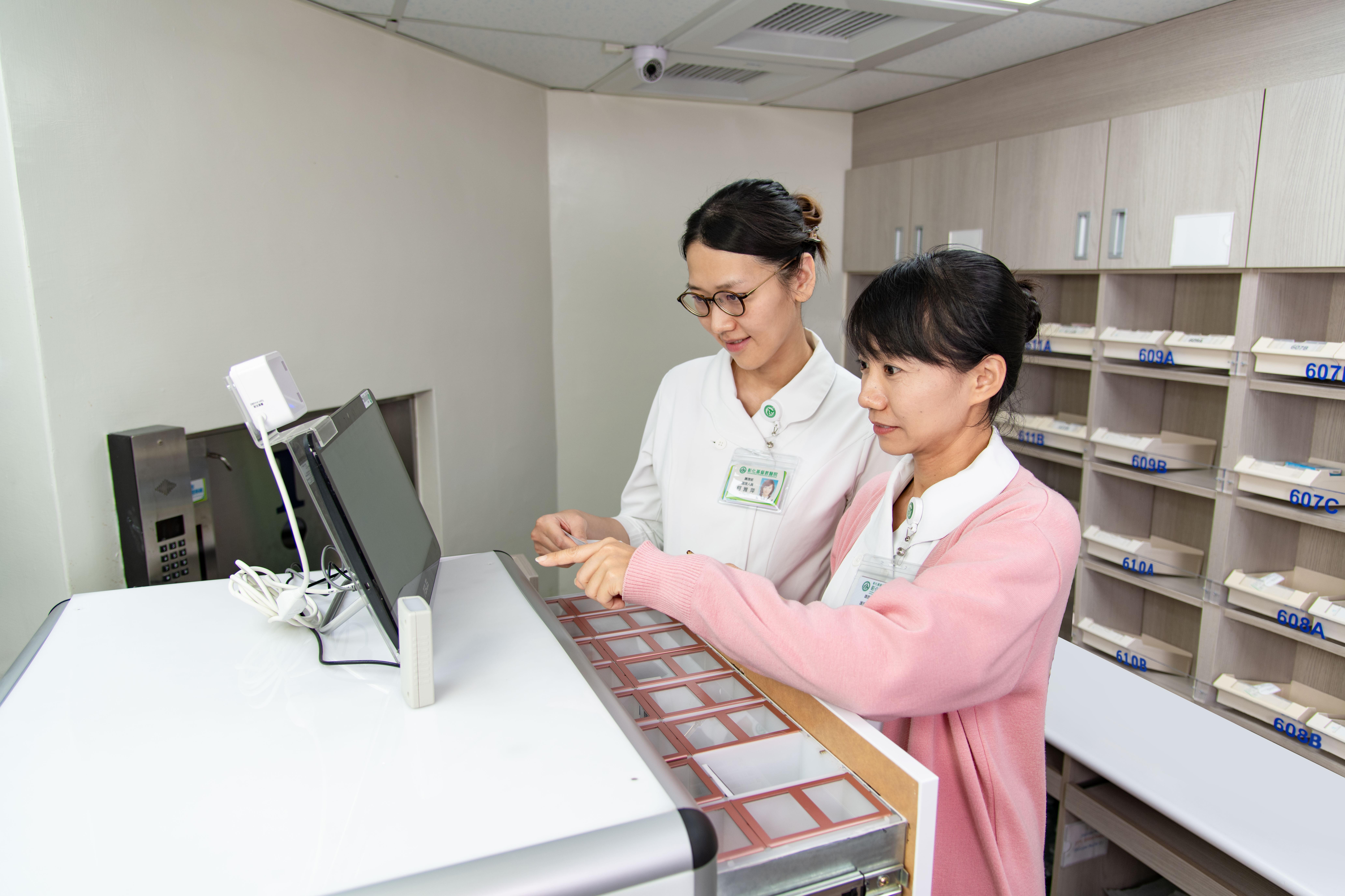 藥學部護理精靈小藥櫃