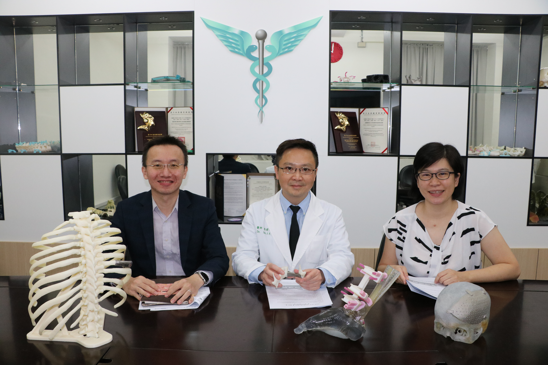 中亞聯大3D列印研究中心團隊合照
