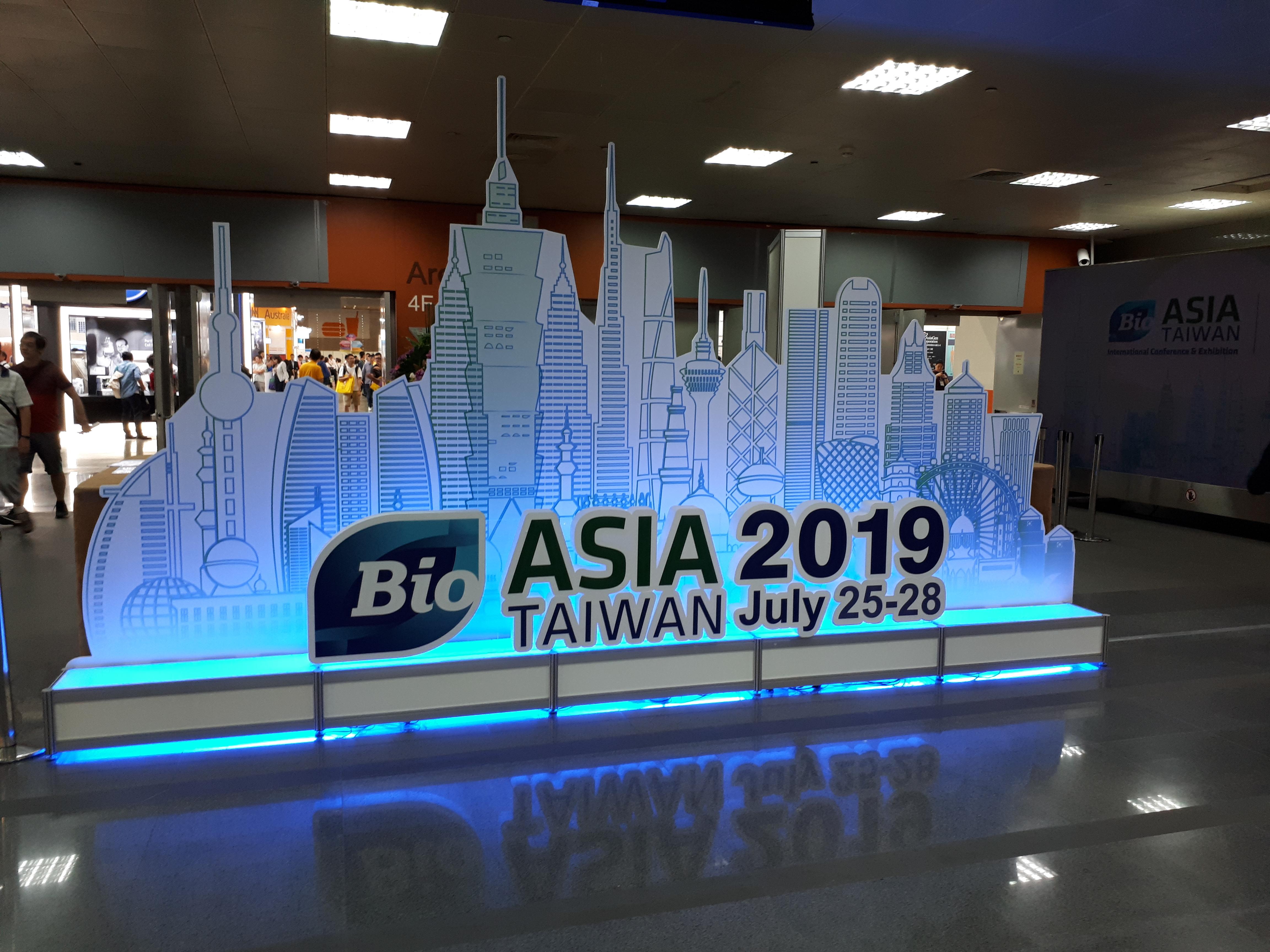 本團產品參加2019Bio Asia Taiwan生技展