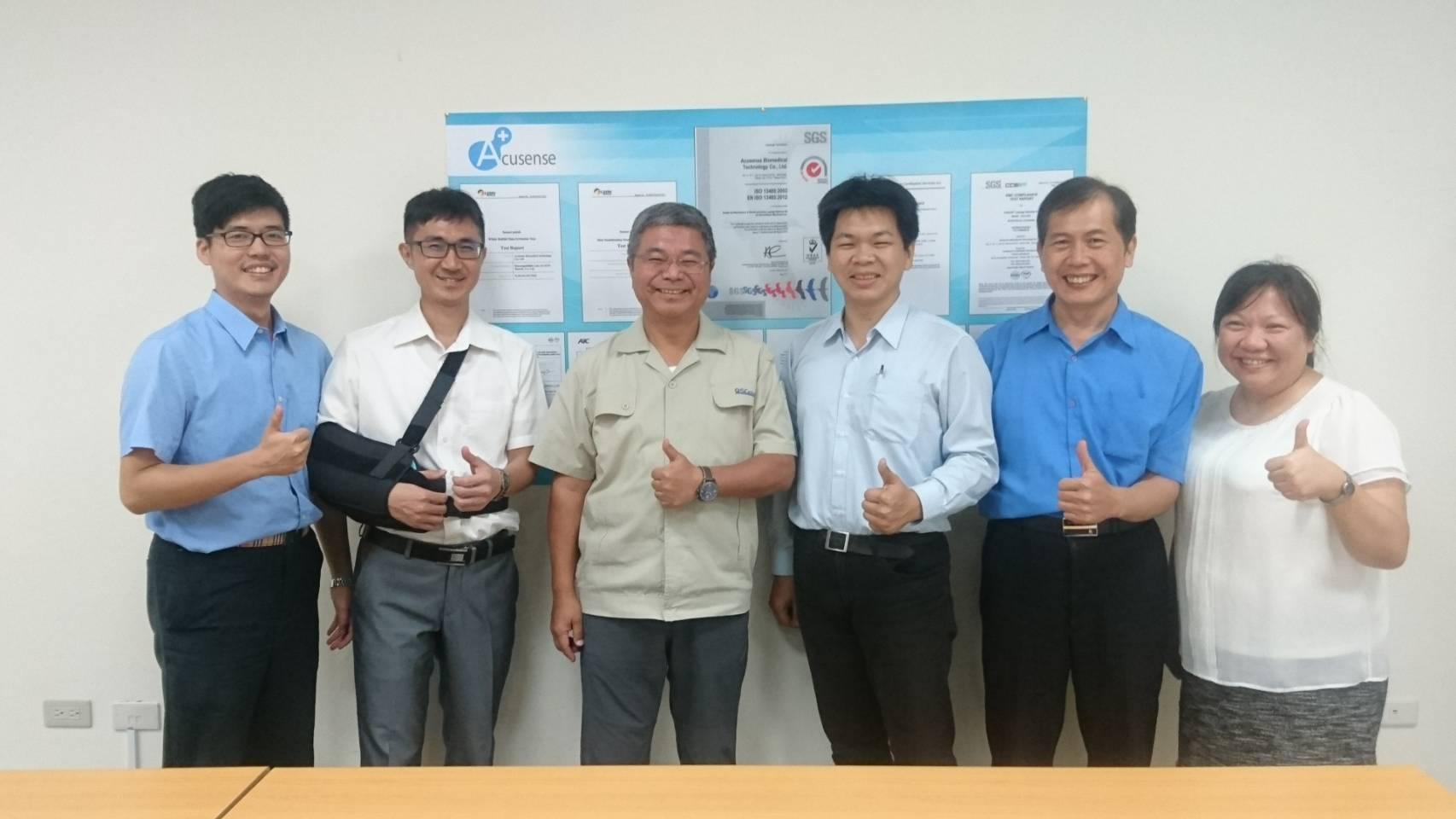 翔安公司與杏合生醫合作關係建立