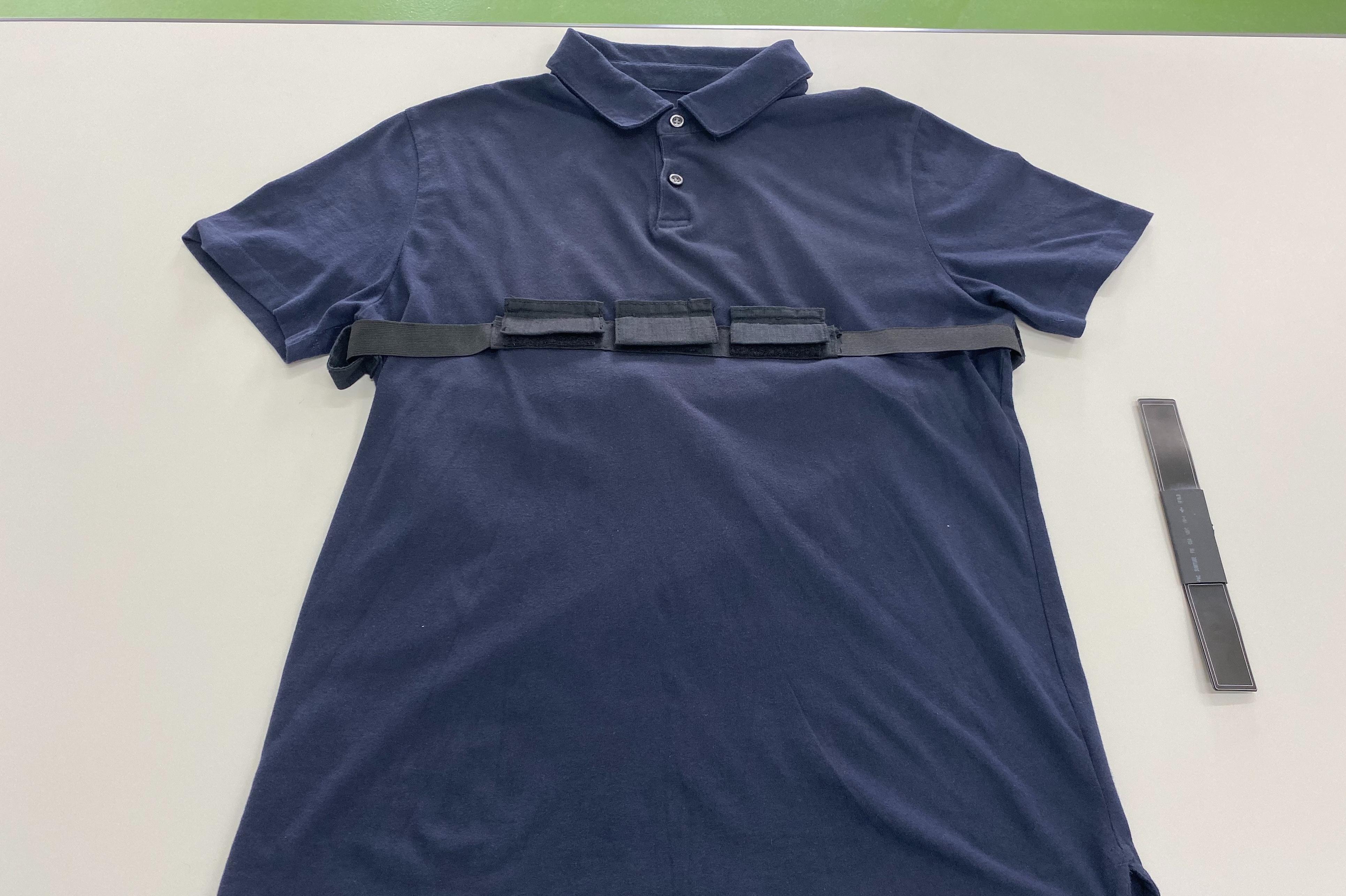 非接觸式心電感測智慧衣2