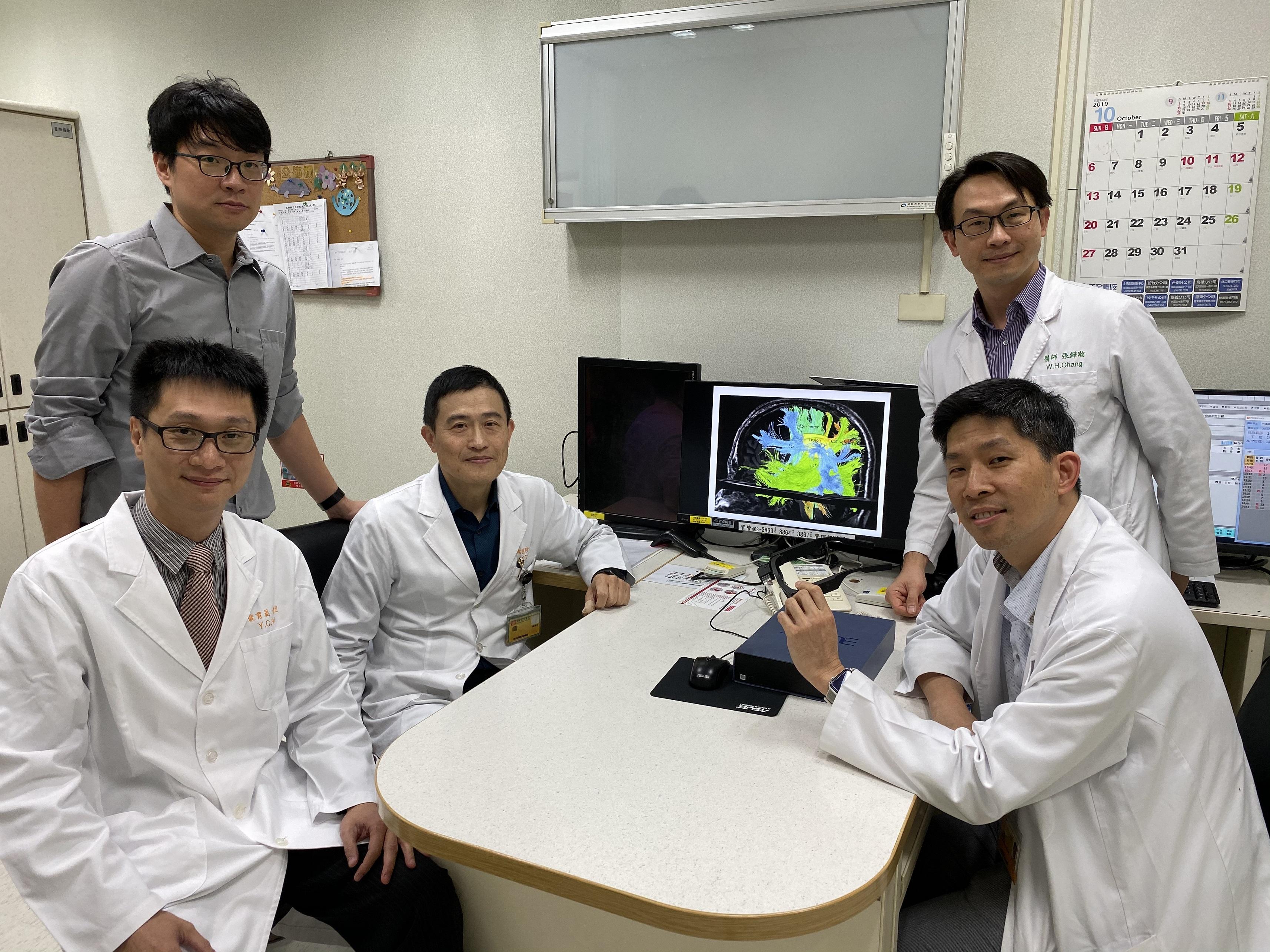 長庚醫院北院區與長庚大學組成的清醒開顱團隊
