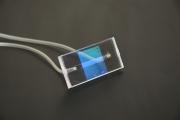 微型化光柵波導感測晶片