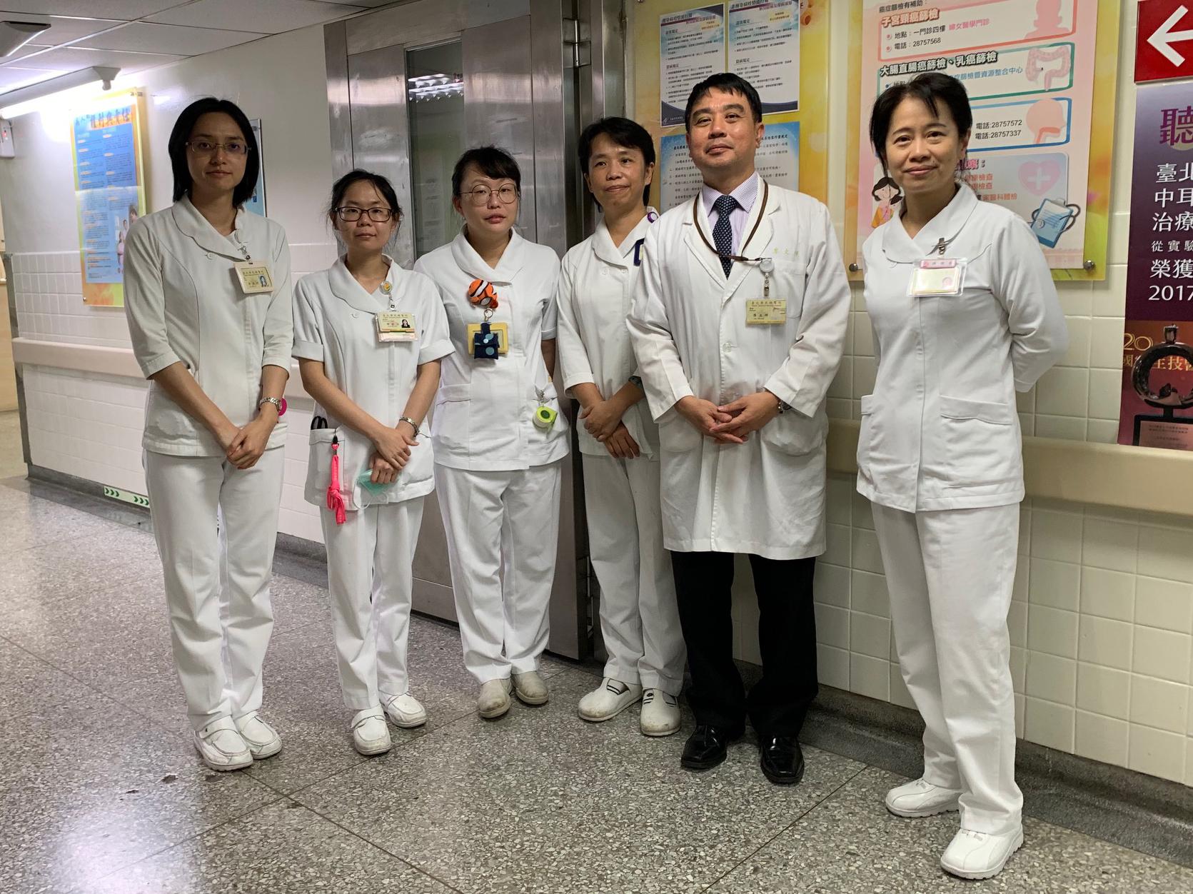 臺北榮總耳科醫護團隊