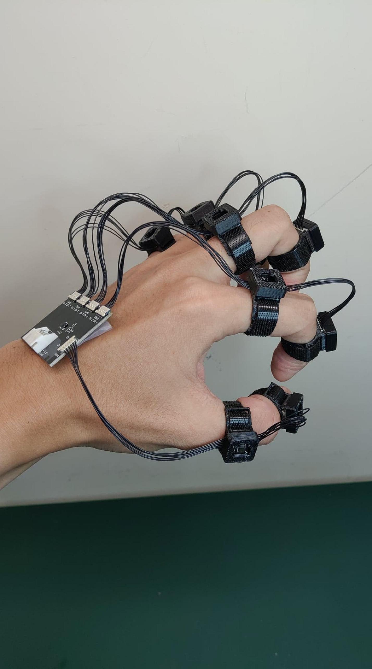 模組化版本手部 姿態感測裝置