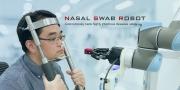 Brain Navi自動鼻咽採檢機器人Nasal Swab Robot - swabbing