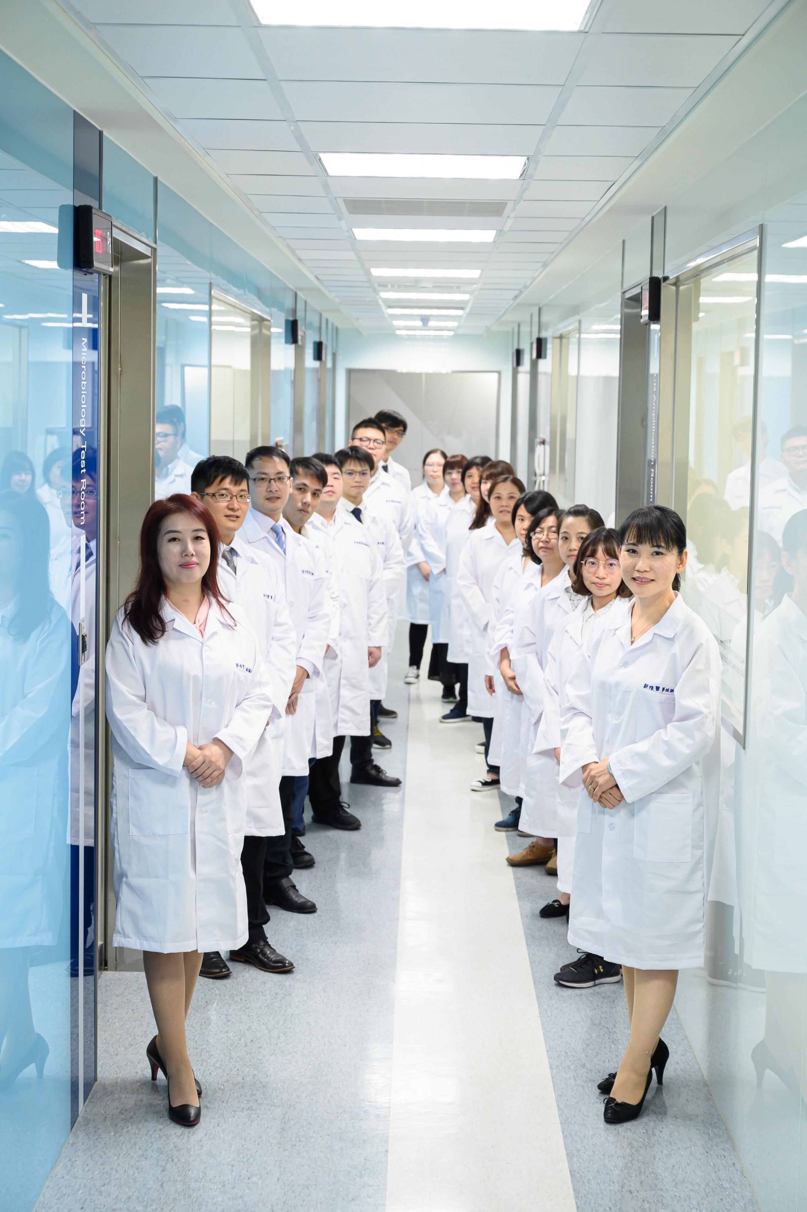 吉蔚精準檢驗專業檢驗團隊