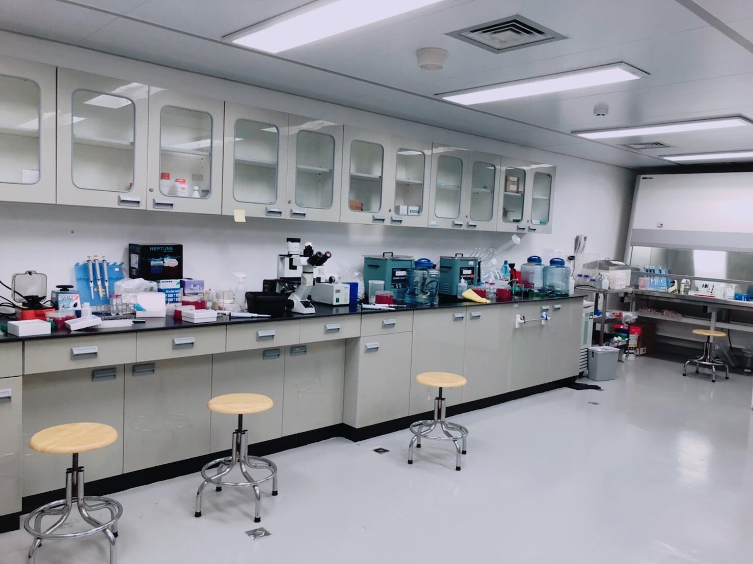 實驗室一隅