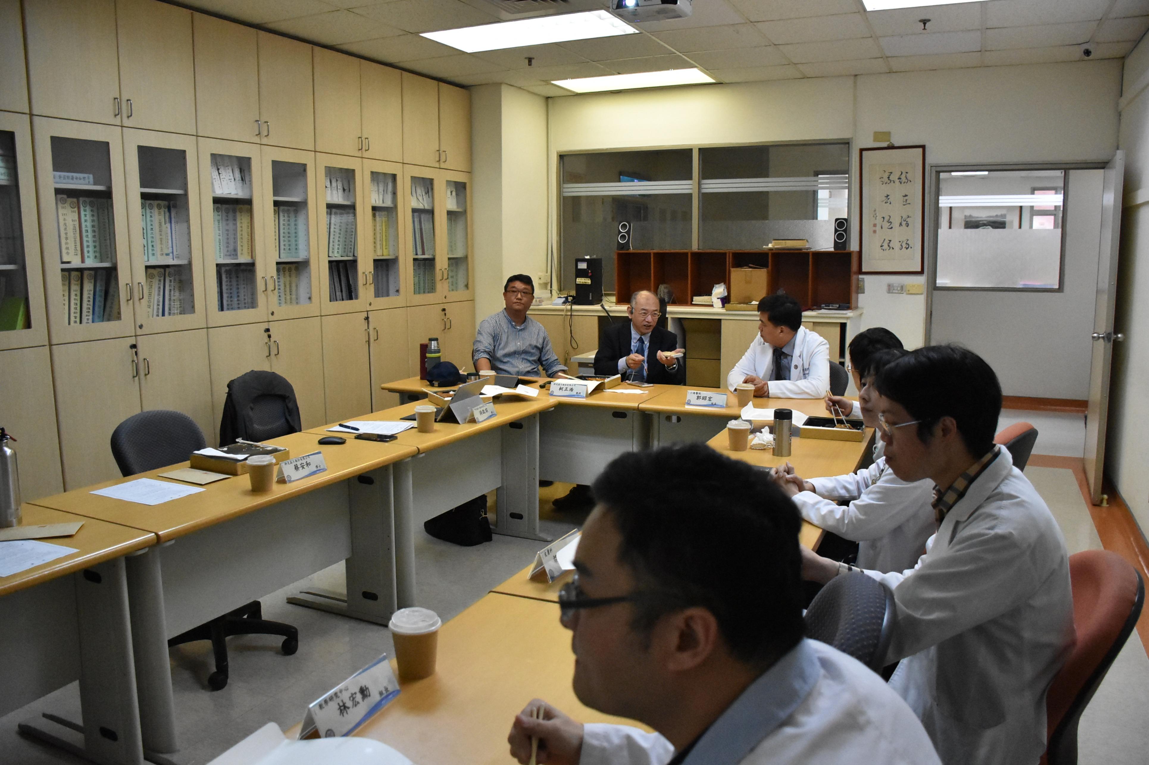 小港醫院、神光晶片團隊會議