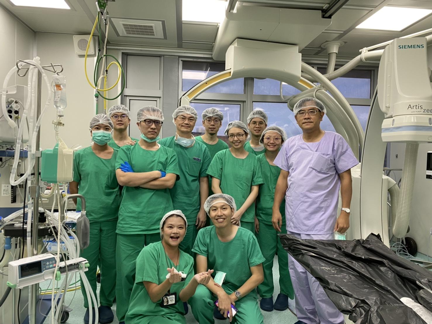 成大心臟科心導管團隊