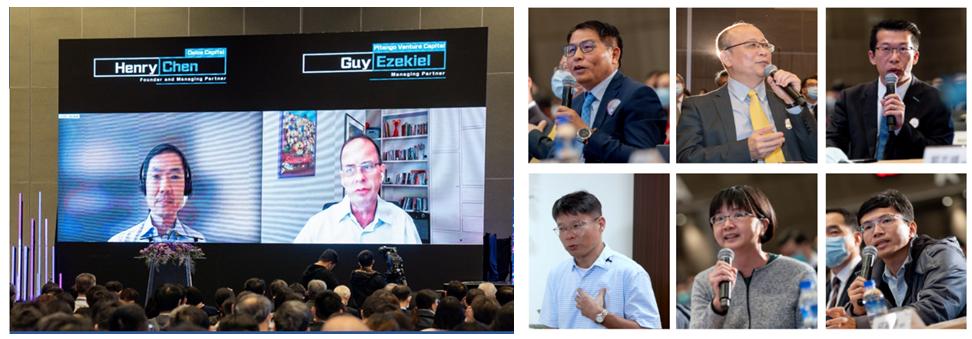 國內外重磅投資機構與國內科技業參與Demo Day探勘選案。