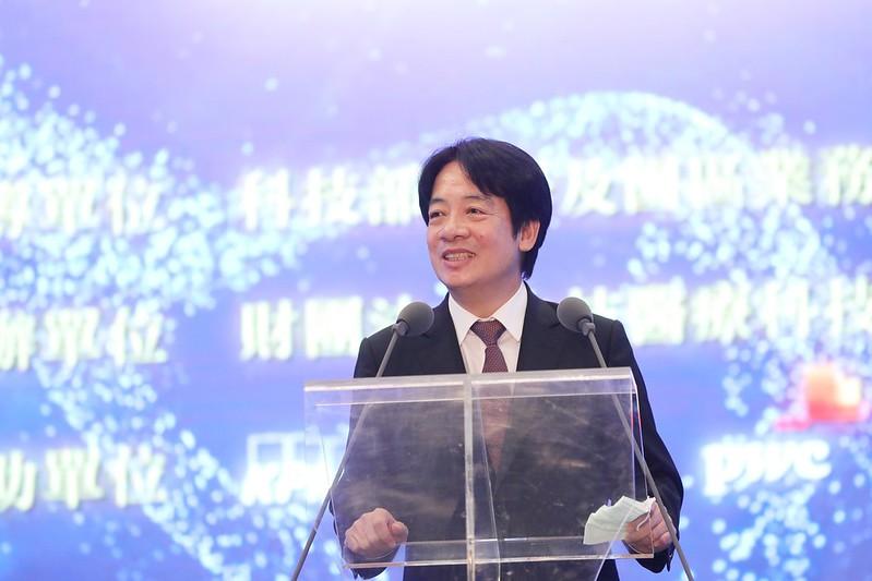 圖:賴清德副總統出席授獎典禮,勉勵業界擦亮台灣醫技術光環、驅動跨域創新。
